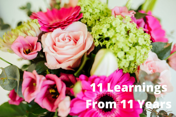 11 Learnings from 11 years Acton Sales
